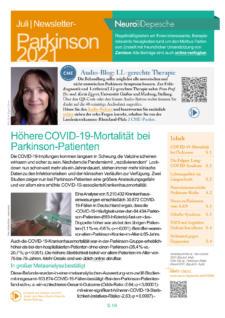 Parkinson-Newsletter Juli 2021 der Neuro-Depesche