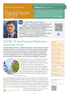 Parkinson-Newsletter April 2021 der Neuro-Depesche
