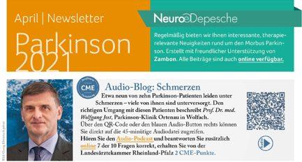 Hier ist ein Vorschaubild des Newsletter Parkinson Februas 2021 der Neuro-Depesche